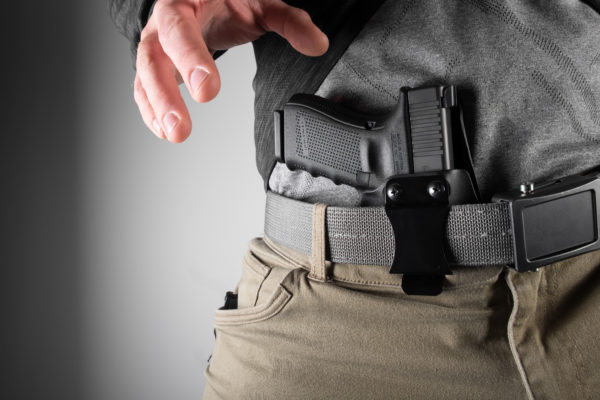 DualPoint™ Light Mounted AIWB Holster - BlackPoint Tactical