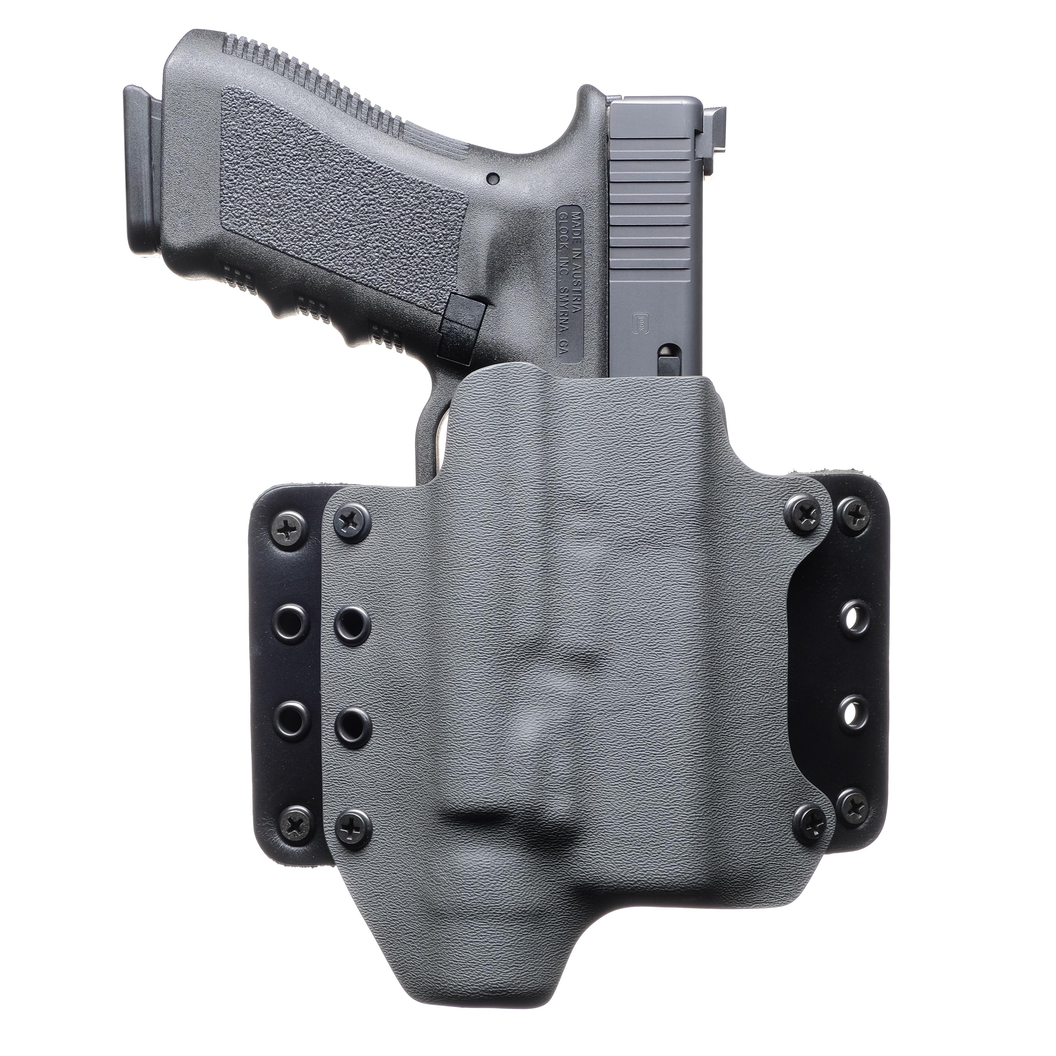 Black Kydex Light Bearing Holster Glock 19 GEN5 Surefire X300 Ultra A Model